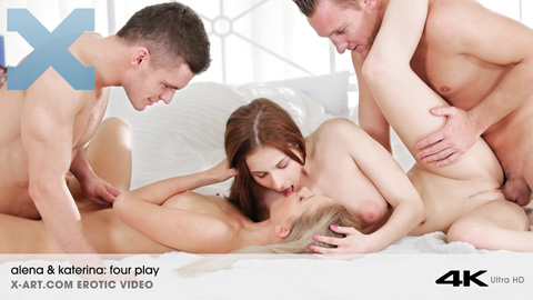 Alena & Katerina - Four Play