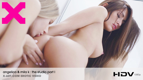 Angelica & Mila K - The Studio Part I