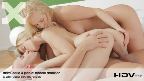 Carla & Abby - Blonde Ambition
