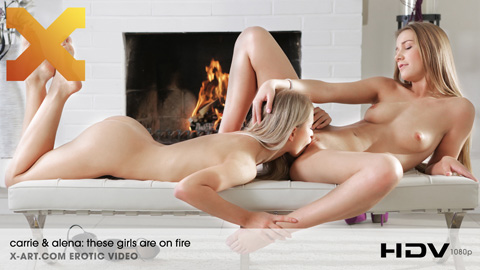 Carrie & Alena - These Girls are on FIre