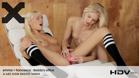 Francesca & Emma - Daddys Office