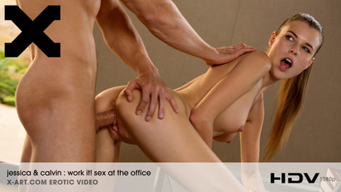 Jessica - Work It Sex at the Office