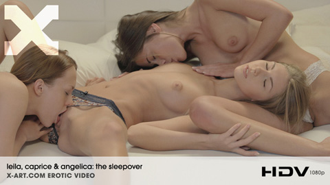 Leila & Caprice & Angelica - The Sleepover