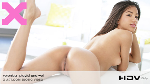 Veronica Rodriguez - Playful and Wet